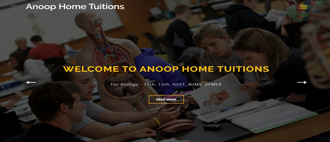 www.AnoopHomeTuitions.com by Tech Samadhan