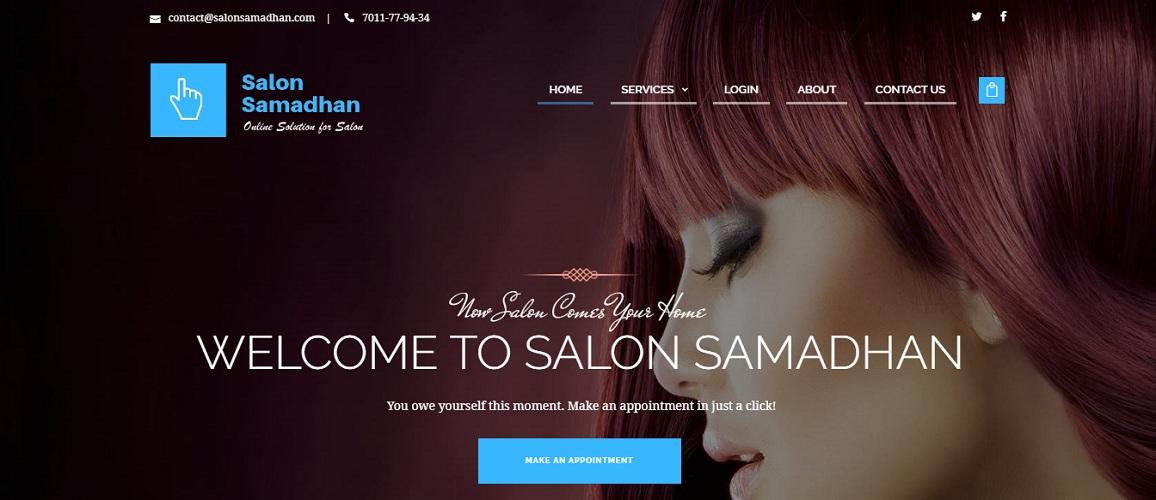 Salon Management Portal by Tech Samadhan