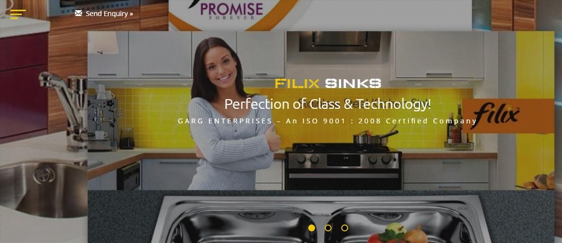 www.filixsinks.com by Tech Samadhan