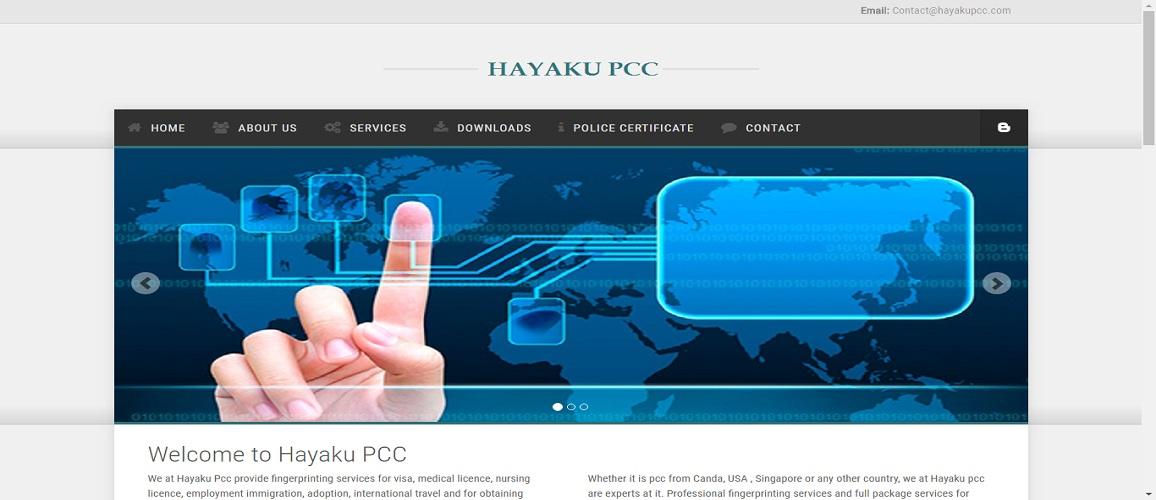 www.hayakupcc.com by Tech Samadhan