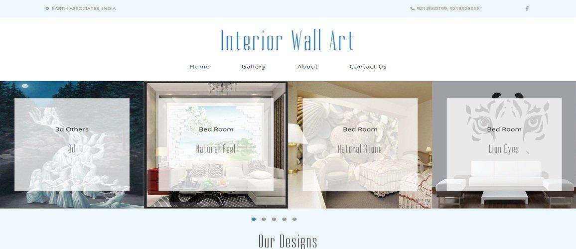 www.interiorwallart.in by Tech Samadhan
