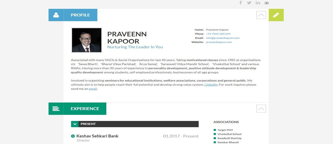 www.PraveenKapoor.com by Tech Samadhan