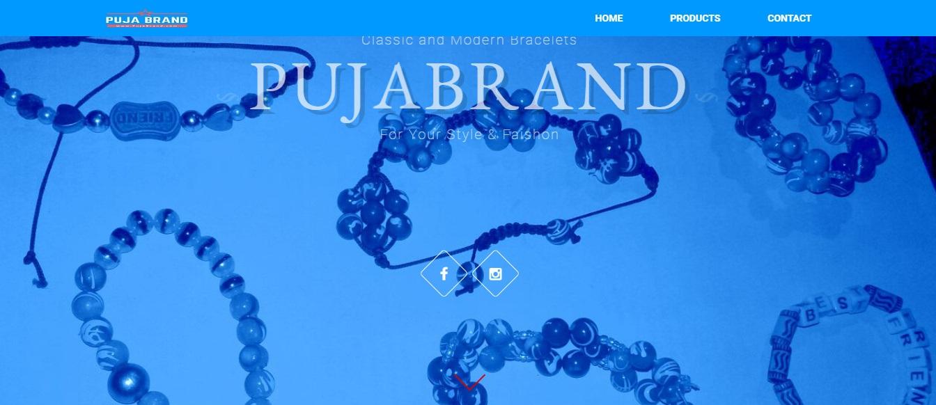 www.PujaBrand.com by Tech Samadhan