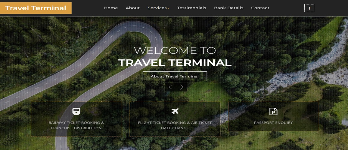www.TravelTerminal.co.in by Tech Samadhan